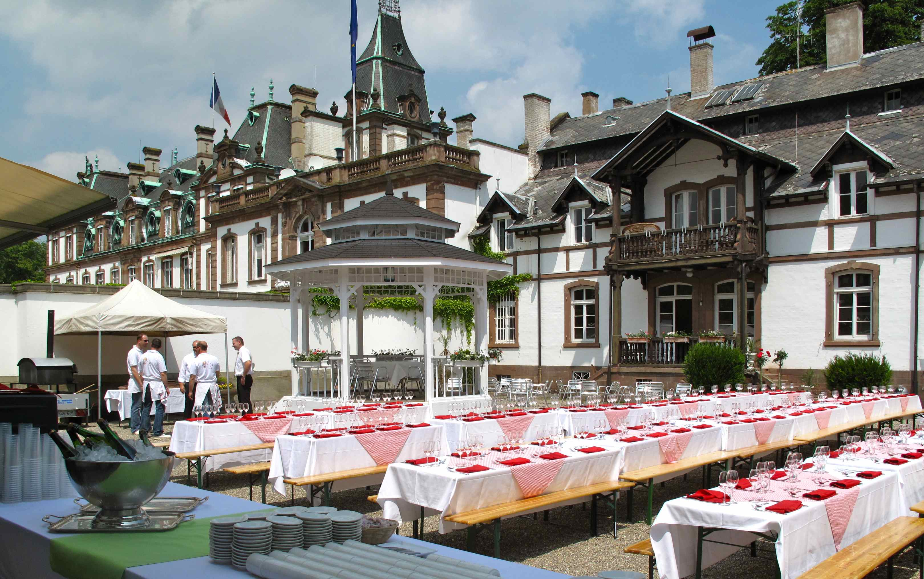 Restaurant Chateau Pourtales Strasbourg
