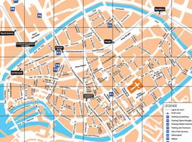 Elsass Karte Zum Ausdrucken.Stadtplan Von Strassburg Stadtzentrum Strassenbahn Und Bus Scb