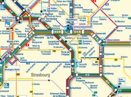 Carte Tram Bordeaux Pdf.Plan De Strasbourg Centre Ville Tram Et Bus Scb